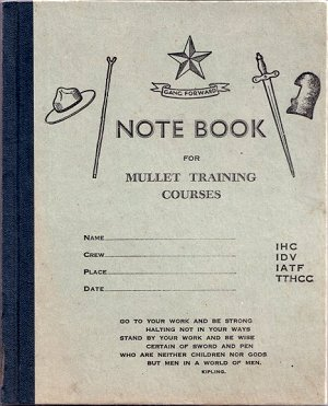 Mullet note book
